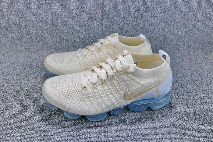 Nike Air VaporMax Flyknit 杏色 經典 編織 氣墊 休閒慢跑鞋 女鞋 942843-201