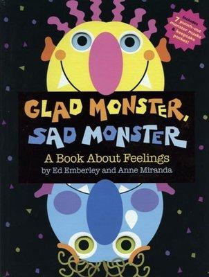 全新63折出清【精裝書+JYCD】Glad Monster, Sad Monster ~含7個面具&EQ情緒