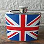 【港都收藏】英國不鏽鋼隨身酒壺5oz/盎司。不銹鋼隨身酒壺。