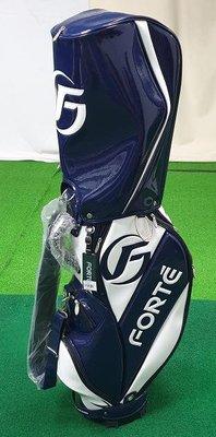 (易達高爾夫)全新原廠FOREMOST A-2103 藍/白色 高爾夫球桿袋