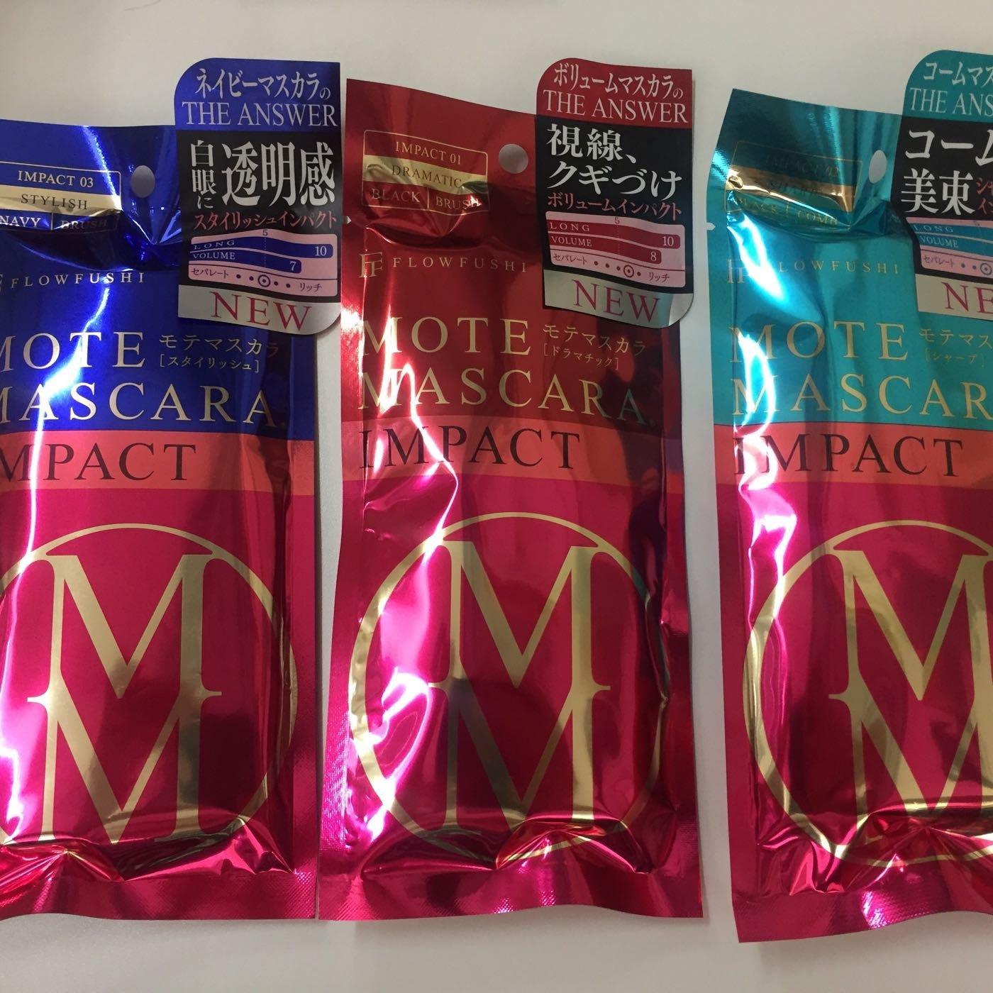 2e51c8e9e7f 日本版日本製FLOWFUSHI MOTE MASCARA Impact-Yahoo香港拍賣