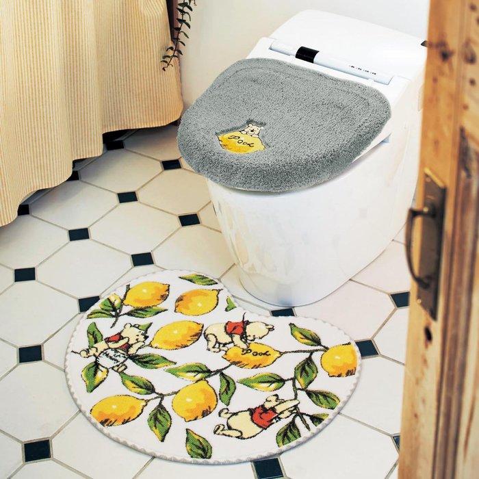 迪士尼DISNEY《預購》小熊維尼 馬桶蓋套+地墊組~可機洗~日本正品~心心小舖