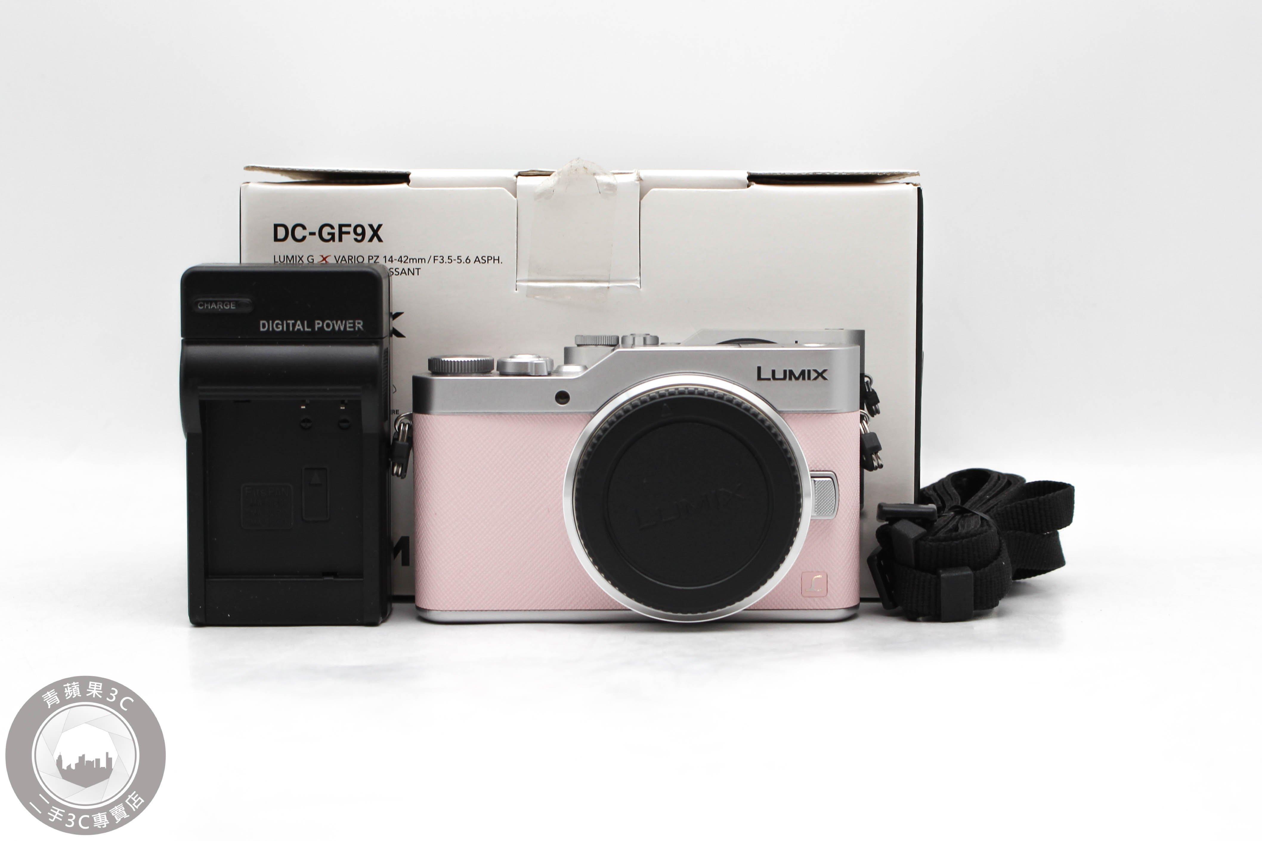 【高雄青蘋果3C】PANASONIC LUMIX G DC-GF9 單機身 微單 粉 二手相機 #48310