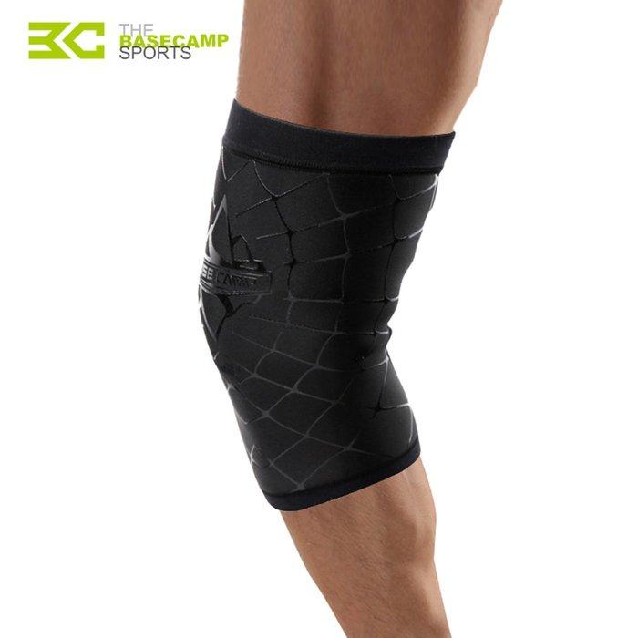 【綠色運動】貝斯卡 髕骨帶 髕骨束帶 運動護膝 薄款 耐磨 戶外騎行 健身跑步 必備裝備 一只裝 BC-583-祺