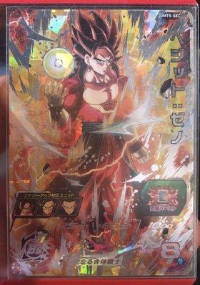[台版]七龍珠機台卡片 Super Dragon Ball Heroes 第五彈 四星卡 UMT5-SEC1 達洛特