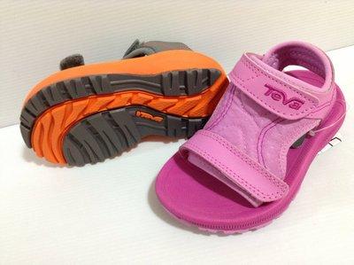 Teva 專業戶外戲水系列 北鼻/小童 黏貼帶設計涼鞋 運動涼鞋 耐磨 耐水性12cm~14cm