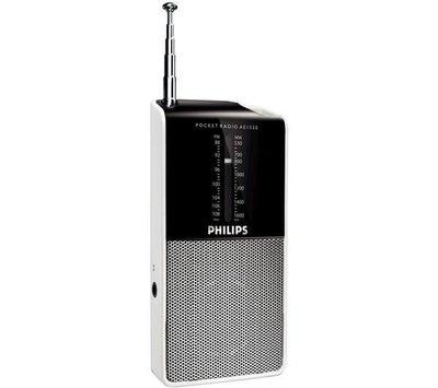 PHILIPS飛利浦迷你口袋收音機 AE1530/AE-1530