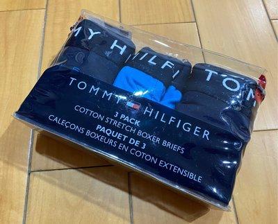 【空姐寶貝】 美國最夯品牌 TOMMY HILFIGER COTTON BOXER BRIEFS 四角內褲 M號