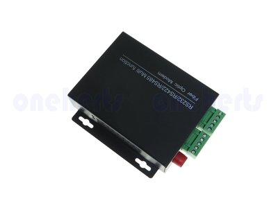 光纖數據機 雙向232 422 485 三合一傳輸器 光纖收發器 資料傳輸 光電轉器 自動化 光纖轉換 萬赫視訊