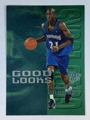 1999-00 Fleer Ultra Good Looks #2 Kevin Garnett Timberwolves