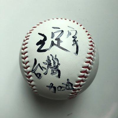 民進黨 台南市議員 王定宇 簽名球 加簽台灣加油