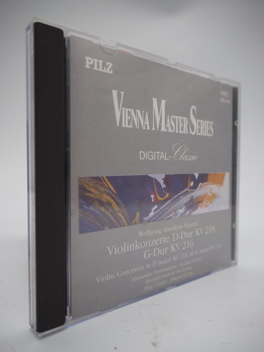 Mozart/Violinkonzerte KV 218,216_Vienna Master Series〖專輯〗AEG