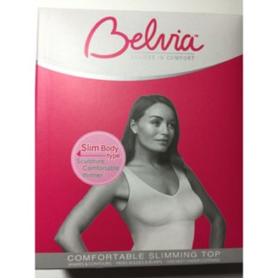 Belvia 英國貝薇雅 透氣無痕超纖瘦塑衣 長版背心bra T  顏色:紫.灰.桃紅.黑 尺寸:S.L
