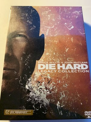 (全新未拆封)終極警探 Die Hard 1+2+3+4+5 1-5 五部曲共六碟裝 DVD(得利公司貨)