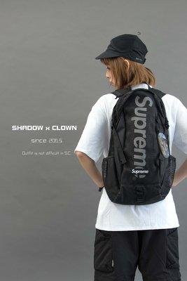 ► ShadowxClown ◄ Supreme 48th Backpack 黑色 網布 後背包