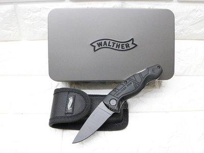 [01] WALTHER PRO Ceramic Knife 折刀 (瑞士刀折疊刀工具刀直刀求生刀童子軍露營登山攀岩潛水