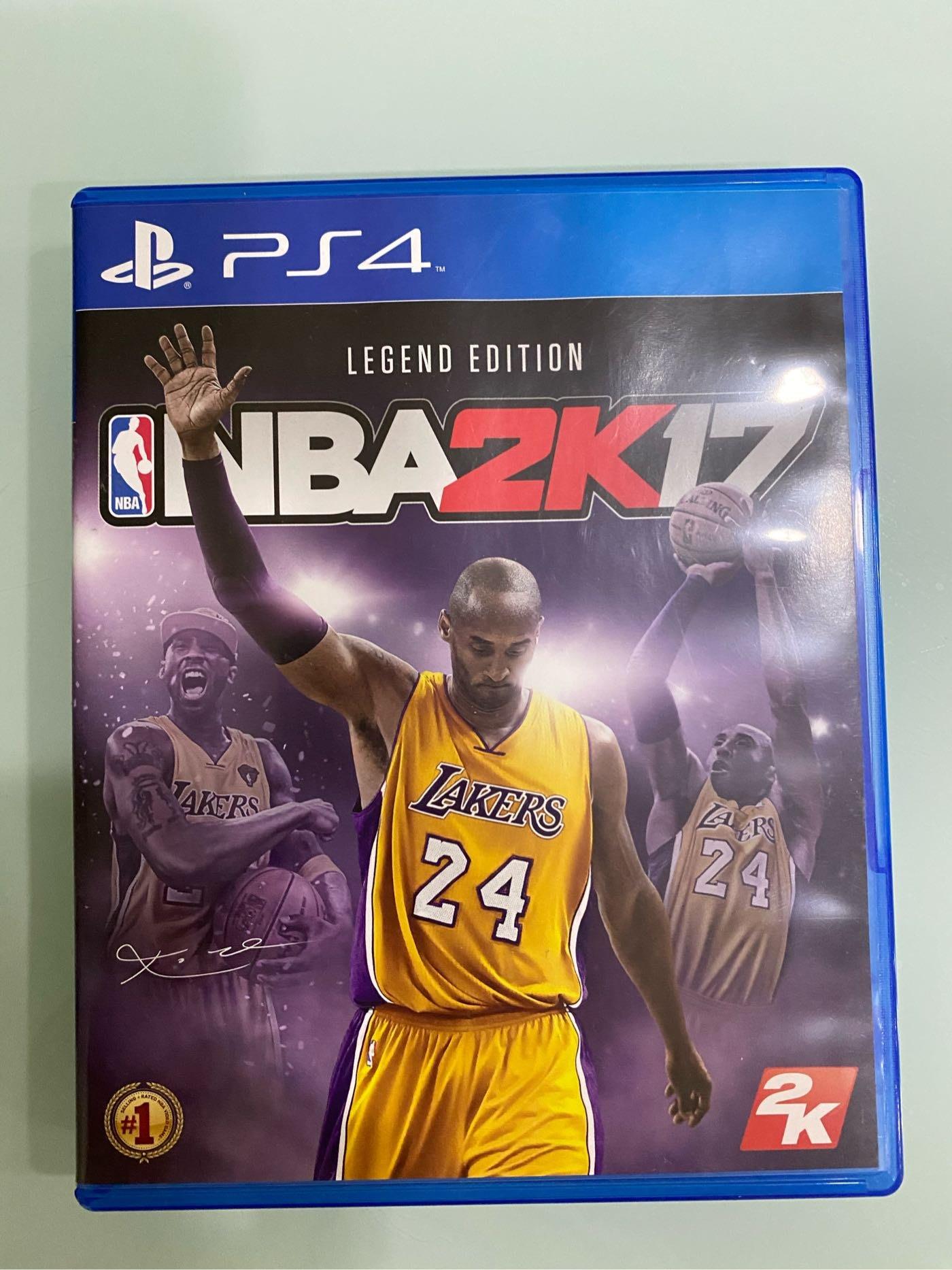 二手 NBA 2k17 Kobe Bryant珍藏版