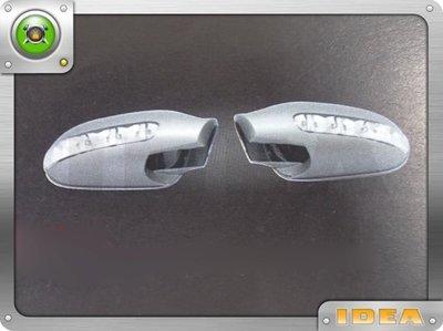 泰山美研社 D2600 BENZ 朋馳 W208 96-00 CLK 銀色 LED後視鏡外蓋