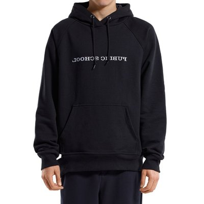 """""""收購"""" Reverse Public School Logo Hoodie 連帽外套 L or XL 黑 or 白皆可"""