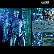 先閱文,後發問Hottoys IRONMAN MARK 3Stealth Mode Version2015 summer exclusive