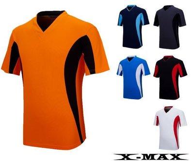 排汗王~X-MAX~台灣製~X1472冰感雙色T恤~慢跑衣.棒球衣~排汗衫團體~中性款~