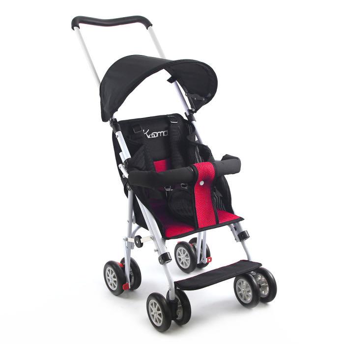 ☘ 板橋統一婦幼百貨 ☘ KOOMA 超輕巧輕便推車 機車椅 (椅背可調)