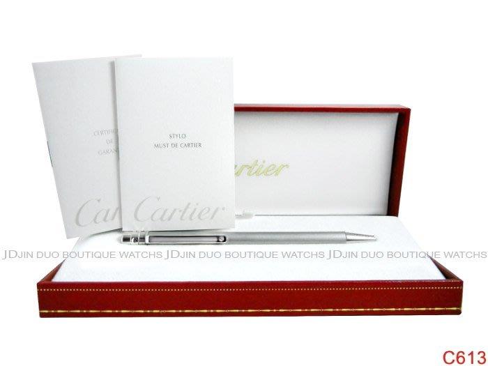 金鐸精品~C613 CARTIER 卡地亞 Cartier SANTOS DE CARTIER 原子筆 全新展示品