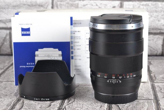 【品光攝影】Carl Zeiss Distagon T* 35mm F1.4 ZE CANON 公司貨 GG#66205