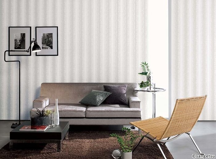 【日本壁紙】直條紋壁紙 Uluru Design 日本進口壁紙 日本製
