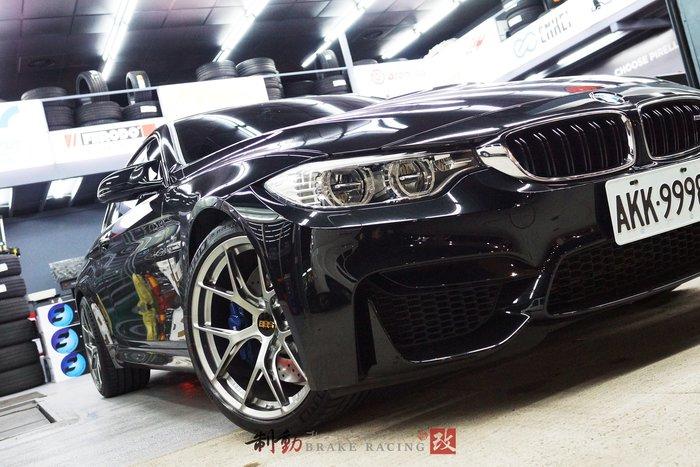 BMW F82 M4 實著 ㊣MotorSport BBS FI-R 鍛造輕量化 精緻鋁圈 歡迎詢問 / 制動改