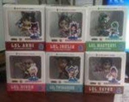 【紫色風鈴2】動漫批發6款英雄聯盟2至7代Q版盒裝小手辦