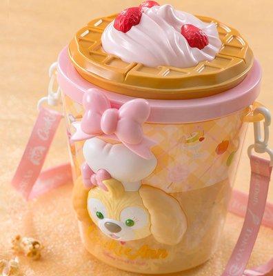 Miss莎卡娜代購【東京海洋迪士尼】﹝預購﹞達菲熊好朋友 CookieAnn 曲奇狗 冰淇淋甜筒 造型爆米花桶 零食桶