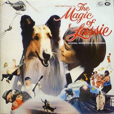 §小宋唱片§ 日版/The Magic of Lassie萊西的魔法電影原聲帶/James Stewart/二手西洋黑膠