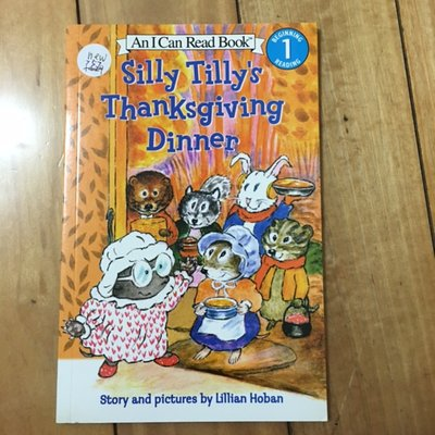 全新英文an i can read silly tilly's thanksgiving dinner 64頁 n757