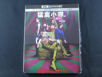 [UHD藍光BD] - 猛禽小隊:小丑女大解放 Birds of Prey UHD + BD 雙碟鐵盒版 (得利正版)