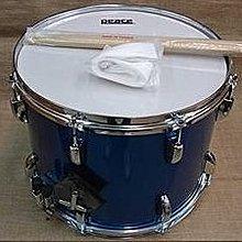 【六絃樂器】全新台灣製 Peace 14 x10吋 藍色標準行進小鼓 / 現貨特價