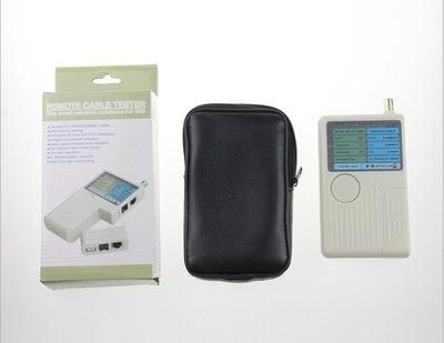 四合一檢測器 網路、電話、BNC、USB線