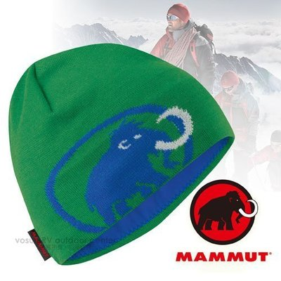 大里RV城市【瑞士 MAMMUT 長毛象】Tweak Cap logo 保暖透氣針織帽.彈性排汗帽.遮耳抗風 01351