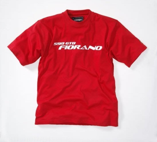 。simple。義大利 法拉利T恤 男生 短袖T恤紅色+FERRARI LOGO