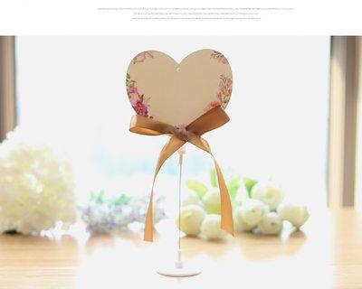 創意婚禮用品 席位卡 桌卡 桌牌  簽到台 婚慶用品道具 8號心款