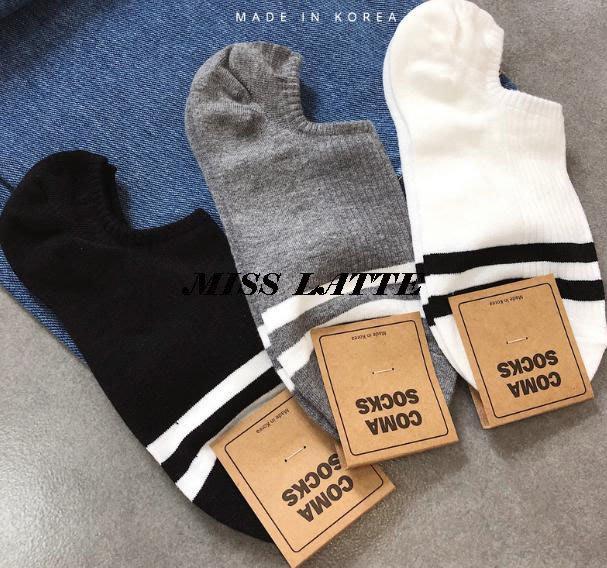 🎉🎉🎉韓國連線 🍀正韓 🍀韓製(買5送1) 🍀拿鐵小姐MISS LATTE🍀襪  隱形襪踝襪