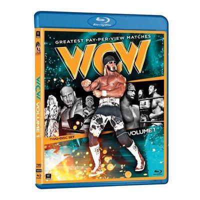 ☆阿Su倉庫☆WWE摔角 WCW Greatest PPV Matches Volume 1 Blu-ray WCW藍光
