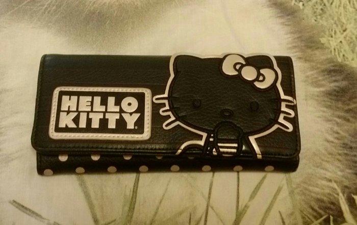 Hello Kitty 三折扣式長夾~全新