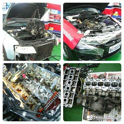 賓士 BENZ 引擎大修 搪缸 吃機油 引擎異音M104 M111 M112 M113 M271 M272 M273