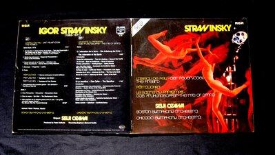 絕版黑膠唱片----史特拉文斯基--芭蕾舞曲----FINALE----2片裝-A5