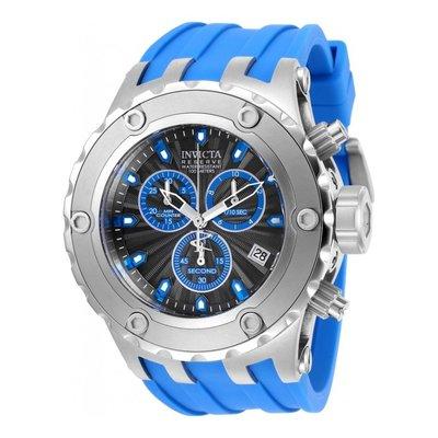 瑞士製 Invicta 人氣款1.7折! Subaqua 52mm 藍銀三眼手錶男錶潛水錶27822全新真品原廠包裝