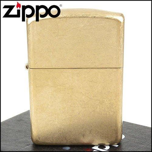 ☆哈洛德小舖☆全新【ZIPPO】美系~Armor tumbled brass-裝甲厚殼磨砂銅 NO.28496