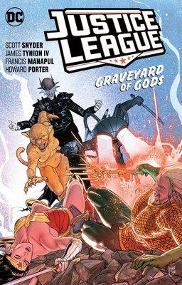 【布魯樂】《5月預購中》[美版書籍] DC超級英雄《正義聯盟》原文漫畫第2集:Graveyard of Gods