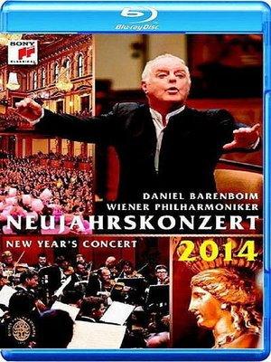 【藍光BD】2014維也納新年音樂會/ 巴倫波因&維也納愛樂-88883792299