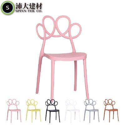 【沛大建材】免運 伊姆斯貓爪椅 北歐餐椅 靠背椅 ins網紅 塑料椅 設計單椅 咖啡椅 現代簡約 創意時尚【U31】